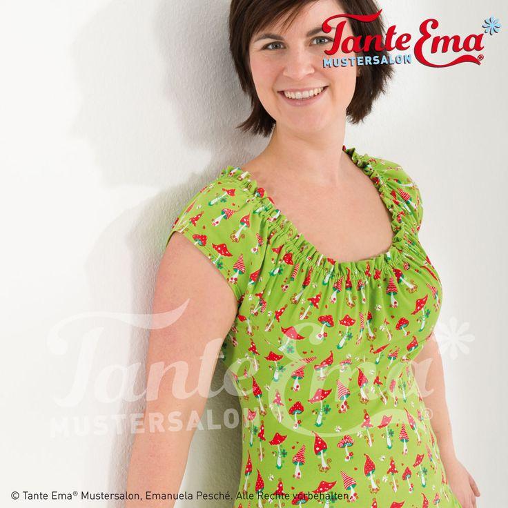 Tante Ema® Jersey-Stoffe. Tolle Designs und leuchtende Farben.