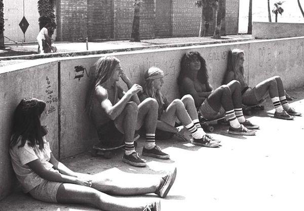 skateboarding / 70s venice beach