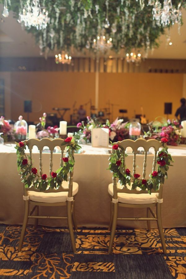 261 best lovely wedding decoration ideas images on pinterest table and chair decorations for weddings red rose visit lovelyweddingideas junglespirit Gallery
