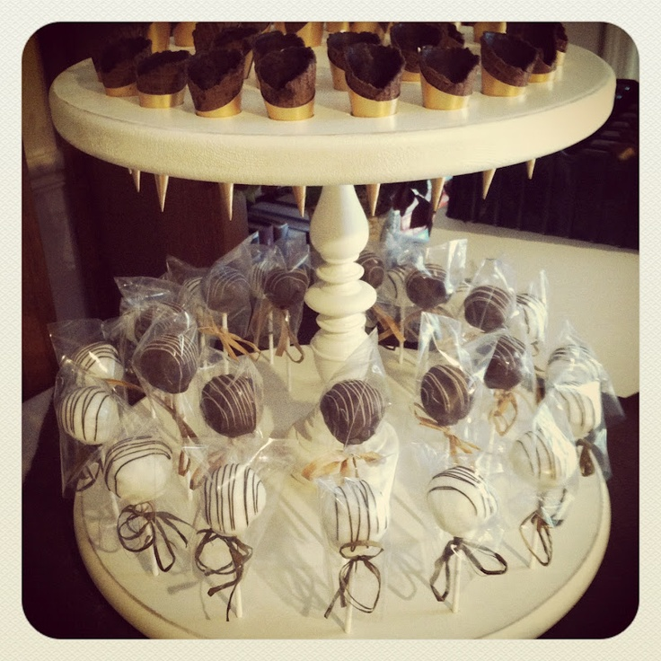 24 Best Images About Diy Cake Pop Cake Stands On Pinterest