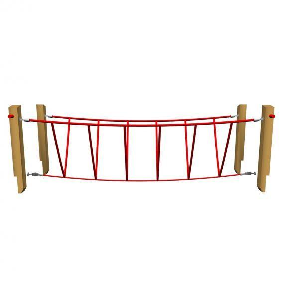 Touwbrug -  - Klik voor een grotere foto