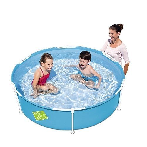 Las 25 mejores ideas sobre piscina redonda en pinterest for Piscina 8000 litros redonda