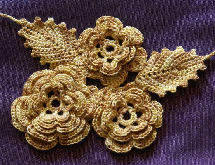 Famous Crochet Irish Rose Pattern Gift Sewing Pattern Dress Ideas