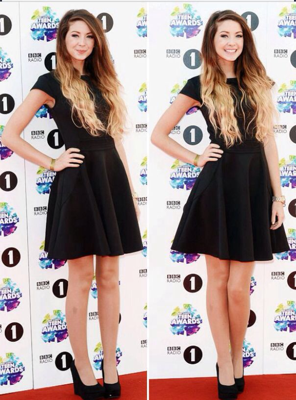 Zoella at the Teen Awards today :)