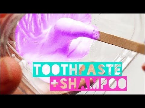 how to make slime only with colgate
