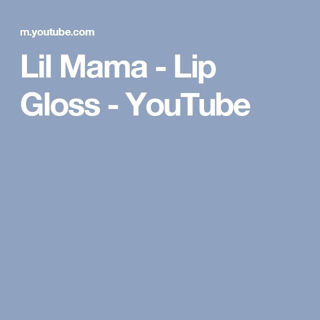 Lil Mama - Lip Gloss - YouTube