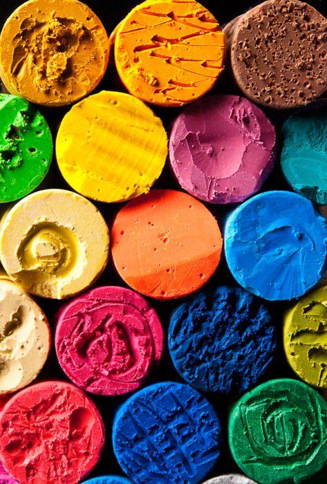 Mélange de couleurs & de formes
