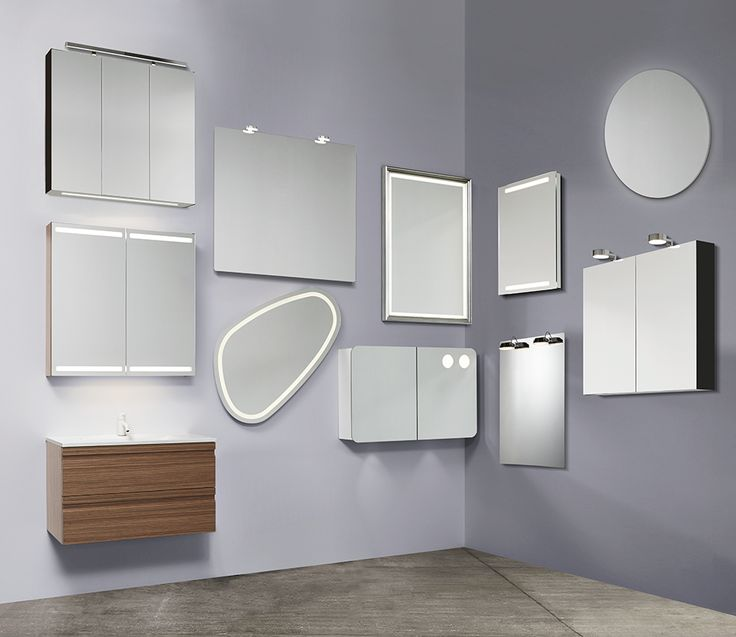 Each of our mirror models are fitted with light sources that provide optimum conditions to give you the finest light when you meet your own gaze in the mirror.