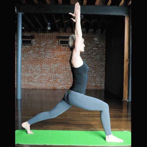 Twisted Chair Pose - Yoga for Weight Loss: Top 10 Yoga Poses that Increase Metabolism | Shape Magazine