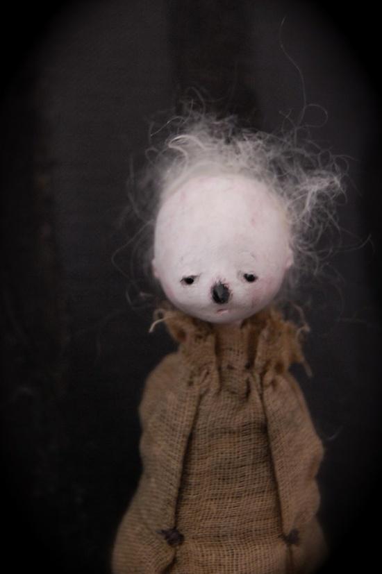 art doll   creepy clown