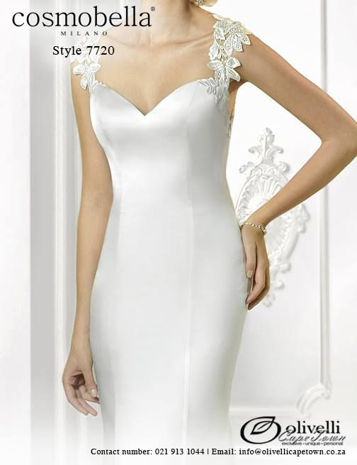 Cosmobella Gown style 7720. Call us on 021 913 1044 for more info. #WeddingGown #OlivelliCT #Cosmobella