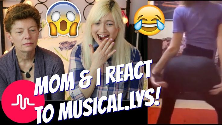 """MOM REACTS TO """"CRINGEY"""" MUSICAL.LYS WITH ME"""