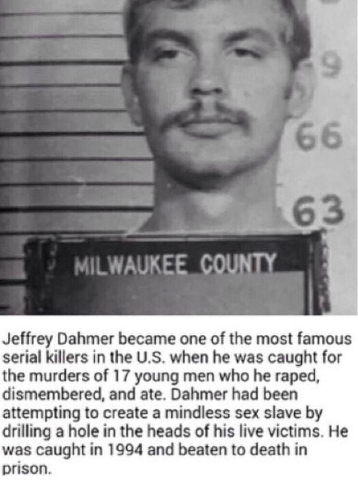 jeffery lionel dahmer well known american serial Summaries investigators seek the spirit of jeffrey lionel dahmer, a well known american serial killer and sex offender dahmer murdered 17 men and boys between 1978 and 1991 after being jailed for his gruesome murders he was beaten to death by a fellow inmate.