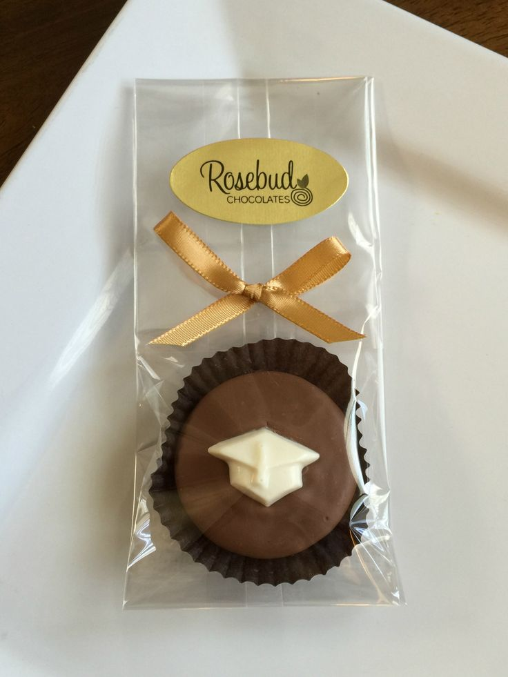Graduation Candy Party Favors Milk Chocolate Oreo Cookie With A Grad Cap