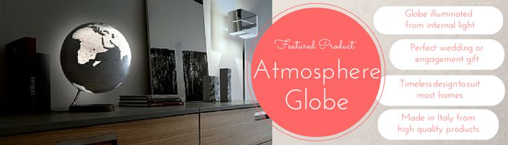 Atmosphere Globes - a timeless addition to any home. #globes #Atmosphereglobes #homedecor
