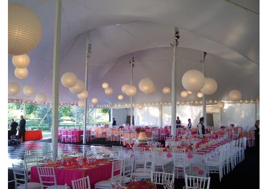 Loving the pink for spring and summer weddings!: Parties Supplies, Company Maryland, Chairs Tables, Outdoor Tent Baby Shower, Bridal Shower, Tent Chairs, Hanging Lanterns, Photo, Maryland Washington