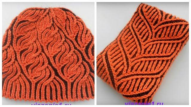 Мастера и умники: Шапка и шарф в технике бриошь. Вязание на спицах