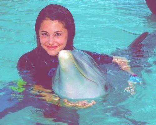 ariana grande and dolphin image