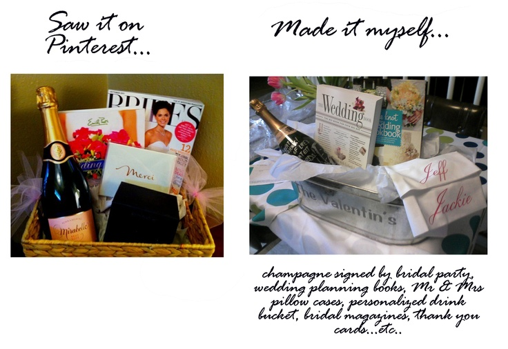 Wedding Planning Gift Basket : about Sisters wedding planning on Pinterest Engagement gift baskets ...