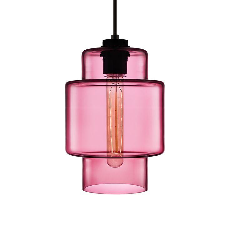 niche modern crystalline series axia in rose axia modern lighting