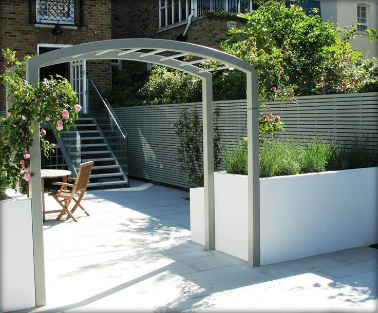 contemporary garden arch - Google Search