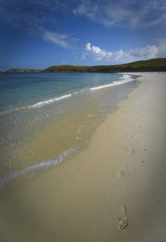 St.Martins Footprints - Isles of Scilly, Cornwall | UK