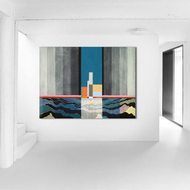Obraz na płótnie Abstrakcja 100 x 70 x 2