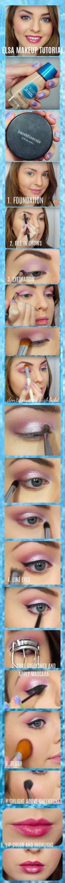 elsa makeup, elsa makeup tutorial, elsa makeup for kids, snow queen makeup…
