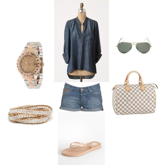 Casual Chic Summer Outfit, created by bethany-holzer
