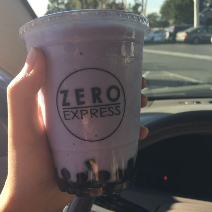 Photo of Zero Express - Long Beach, CA, United States. Ube Milk (cup) with boba ($0.50)