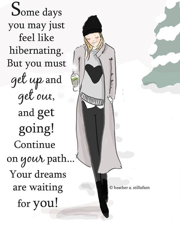 Get up and Get Going!