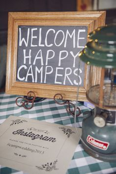 Camping Wedding Theme on Pinterest | Camp Wedding, Themed Weddings ...