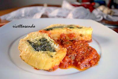 Rotolo di patate e spinaci #ricetta di @luisellablog