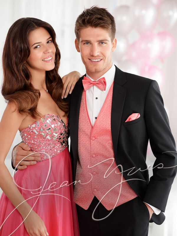 Page 60  Modern Essentials Black 2 Button Notch (10115), Guava Celebration Vest and Bow Tie by Larr Brio