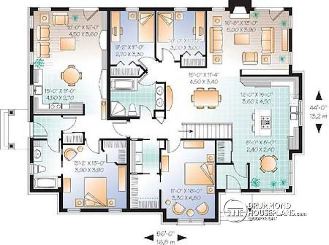 1000 images about second generation floor plans on for Homes with in law units