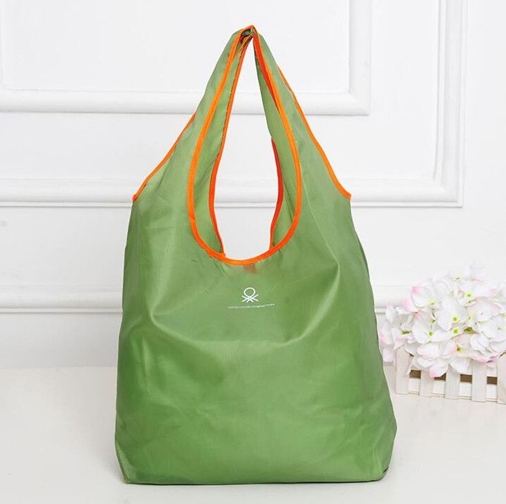 1PS Fation Folding Shopping Bag Environmental Protection Durable Multifunction HandBag Travel And Home Storage Bag Organizer ** Read more at the image link.