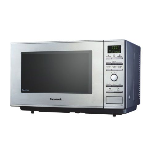 Panasonic Nncf781s Mid Size Inverter Microwave Convection Oven 1 0 Cu Ft
