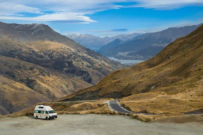 Å leie bobil på New Zealand gir en utrolig frihet