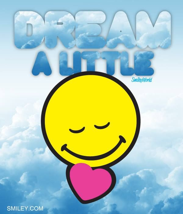 Dream of someone you love!!! Free download of all smiley icons at www.smiley.com