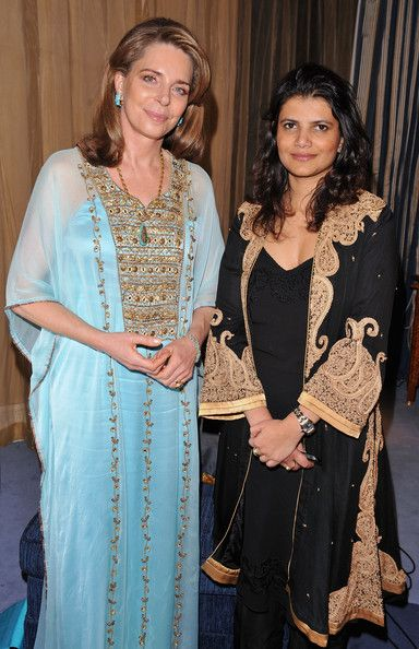 Queen Noor Photos Photos - Queen Noor of Jordan and Managing Director of DIFF Shivani Pandya during day five of the 6th Annual Dubai International Film Festival held at the Madinat Jumeriah Complex on December 13, 2009 in Dubai, United Arab Emirates. - 2009 Dubai International Film Festival - Day 5