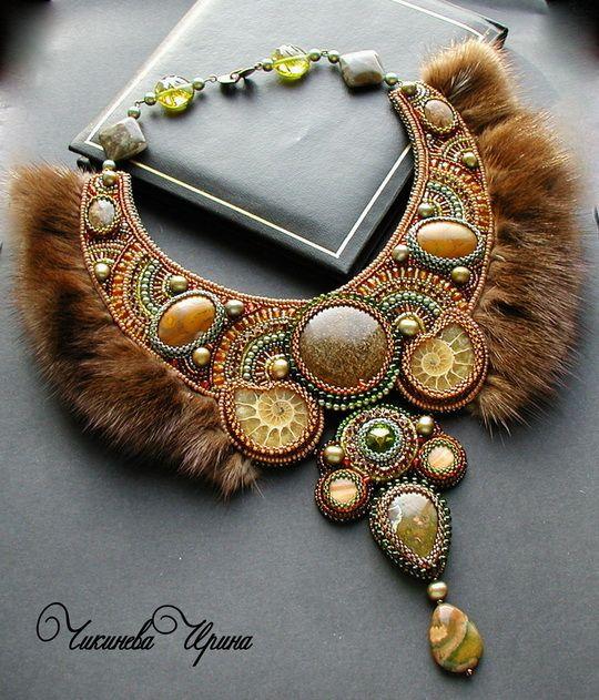 Beautiful and original jewelry with fur | Beads Magic