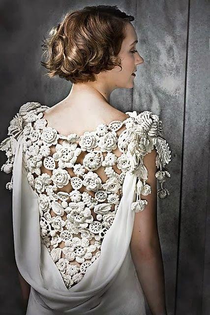 Crochet wedding dresses +++ VESTIDOS DE NOVIA HECHOS DE GANCHILLO