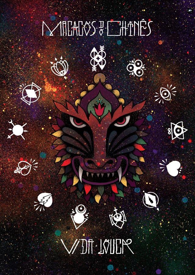 Macacos do Chines album art by Kruella Denfer.