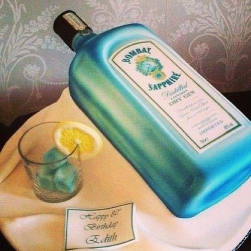 Decorated Alcohol Bottles For Birthday: 25+ Best Liquor Bottle Cake Ideas On Pinterest