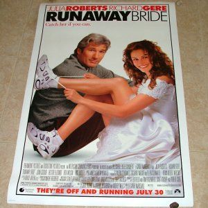 Description: original; international version; double sided; rolled; Dimensions: 27 x 40 Year: 1999 Cast: Julia Roberts, Richard Gere, Joan Cusack, Hector Elizondo, Christopher Meloni, Rita Wilson, Paul Dooley, Laurie Metcalf, Jean Schertler, Donal Logue, Reg Rogers, Yul Vazquez, Lisa Roberts Gillan, Sela Ward, Tom Mason Directed By: Garry Marshall  ORIGINALLY HUNG IN LOCAL MOVIE THEATER