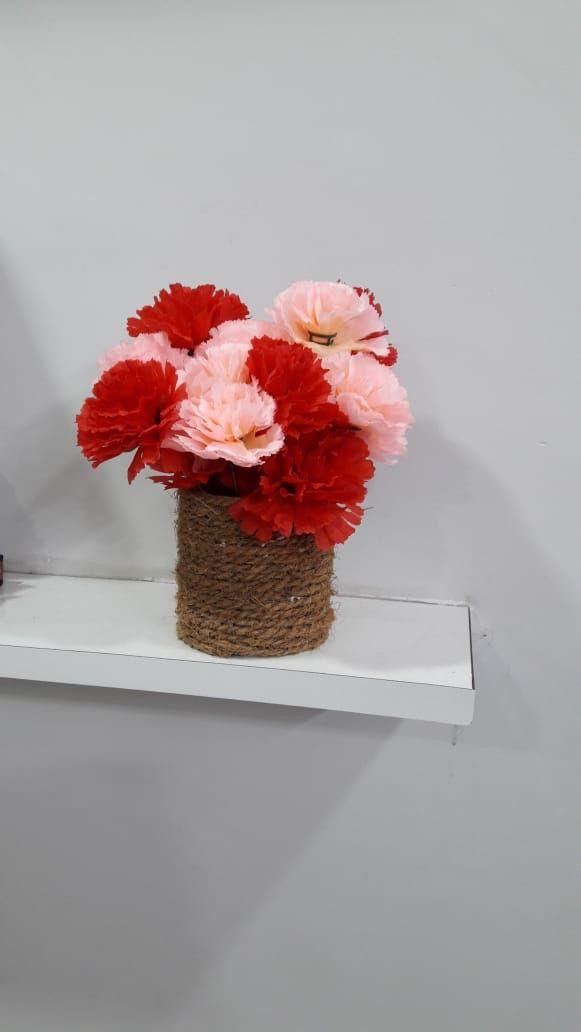 Pinterest & Handmade flower vase with rope | Crafts ideas | Handmade ...