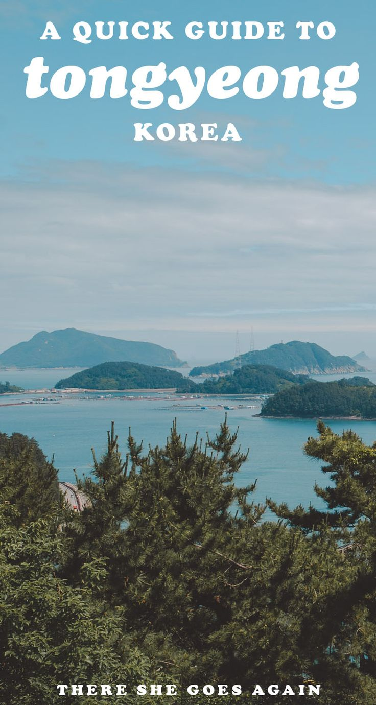 Tongyeong in South Korea is such a lovely city to visit! From traveling out to the islands and learning more about Yi Sun Shin, here's a quick guide for yoru trip. #tongyeong #korea