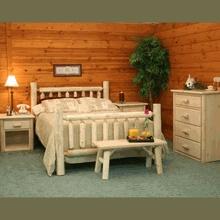 Cedar Log Bedroom Set