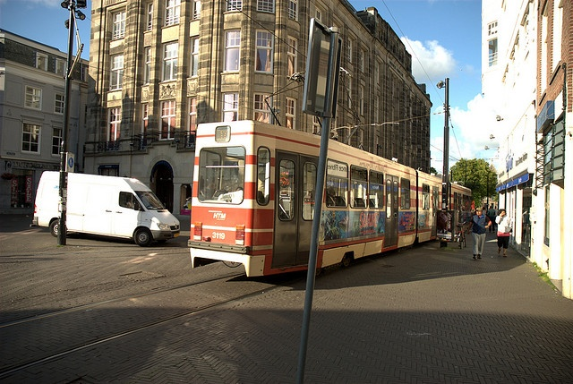 Tram / Streetcar, The Hague (den Haag), Nederlands.