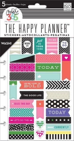 Washi Me & My Big Ideas Create 365 Stickers